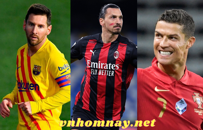 3 cầu thủ ghi nhiều bàn thắng thế kỷ 21
