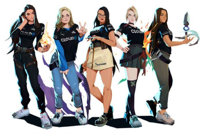 Girl Gamer trung dong